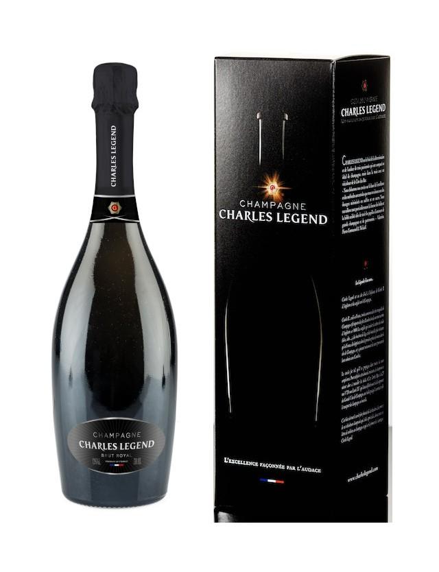 BRUT ROYAL - AVEC ETUI champagne charles legend