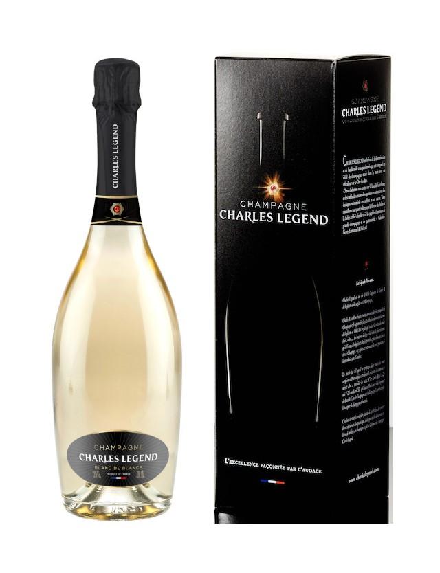 BLANC DE BLANCS - AVEC ETUI champagne charles legend