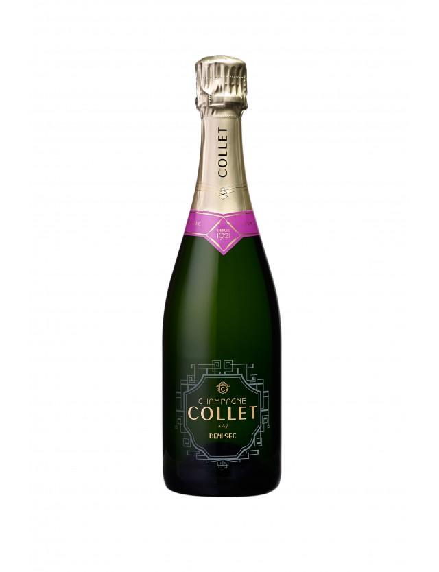 Cuvée Demi-sec champagne collet