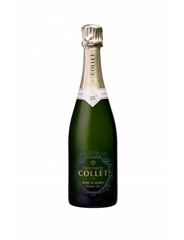 Cuvée Blanc de blancs Premier Cru champagne collet