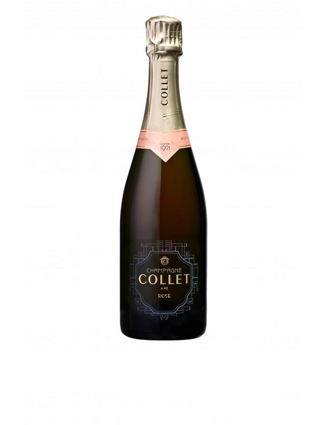 Cuvée Brut Rosé champagne collet