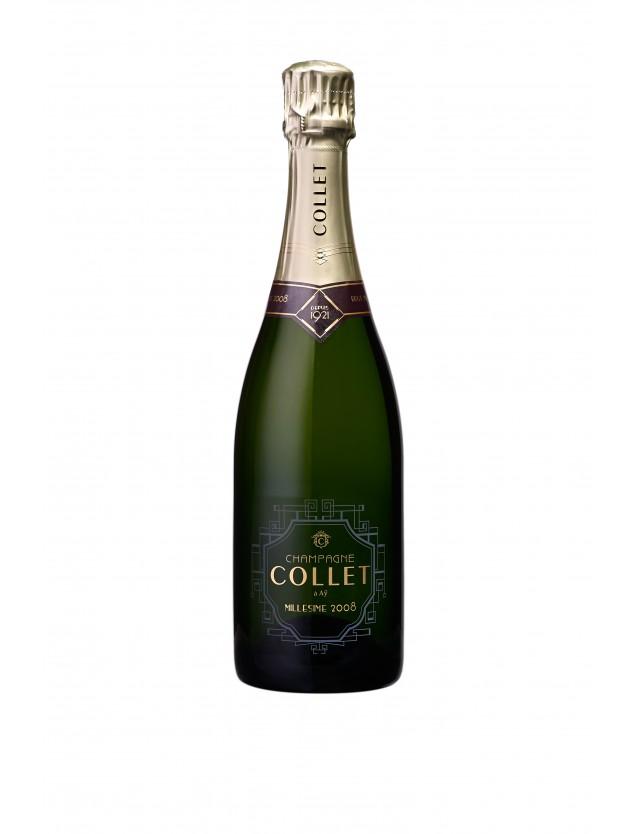 Cuvée Millésime 2008 champagne collet