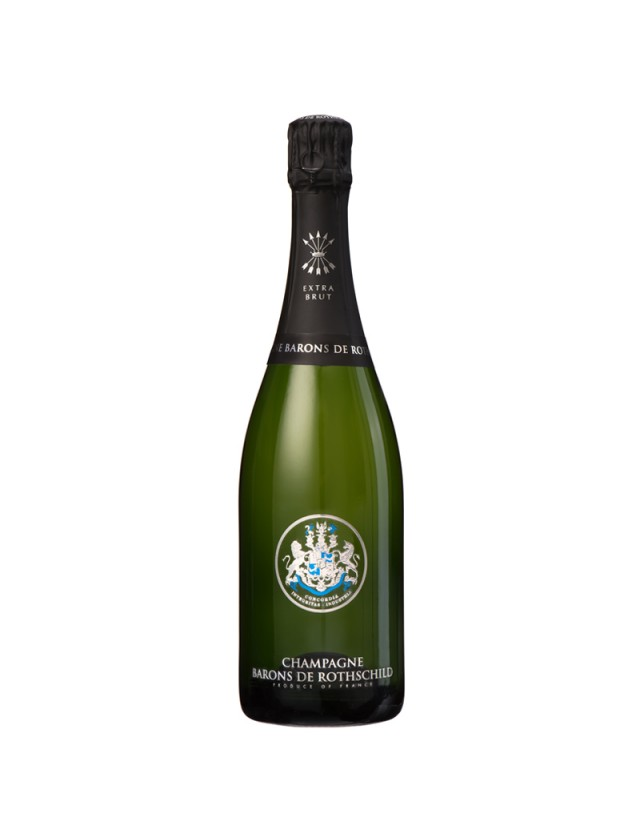 CUVEE EXTRA-BRUT champagne barons de rothschild