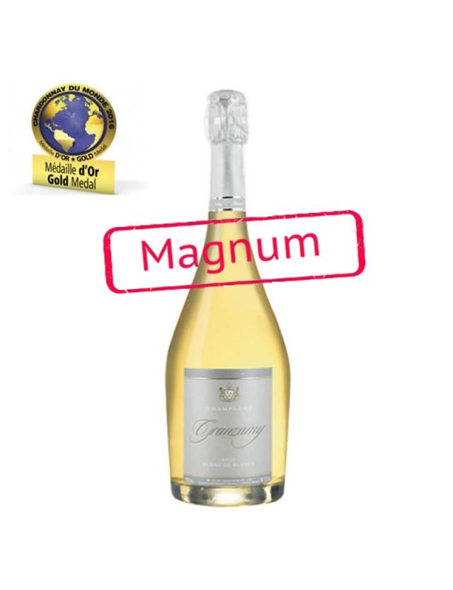 Magnum Cuvée Brut Blanc de Blancs champagne granzamy