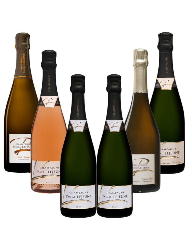Coffret Différentes bulles de Champagne champagne pascal lejeune