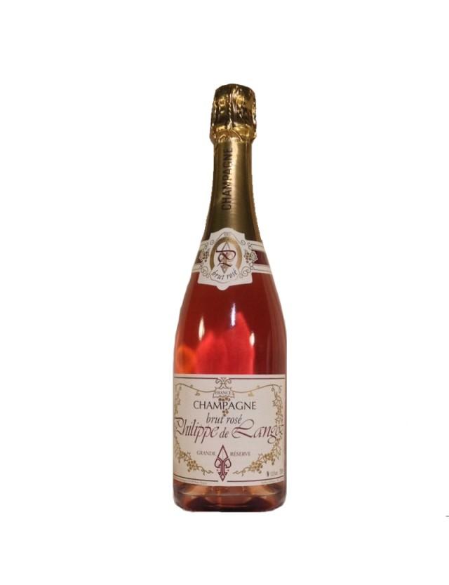 Brut Rosé champagne philippe de langoz
