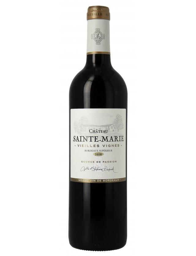 Vieilles Vignes Bordeaux Superieur chateau sainte-marie