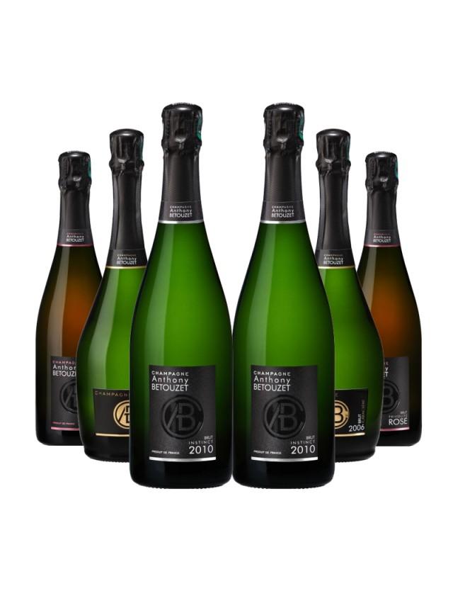 Coffret Découverte Anthony Betouzet Champagne