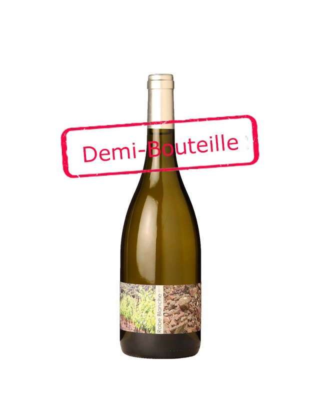 Robe Blanche - demi-bouteille domaine mas nuy