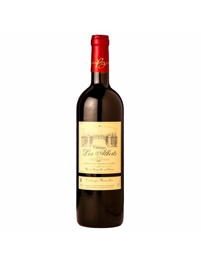 Cuvée Premières Côtes de Blaye chateau les alberts