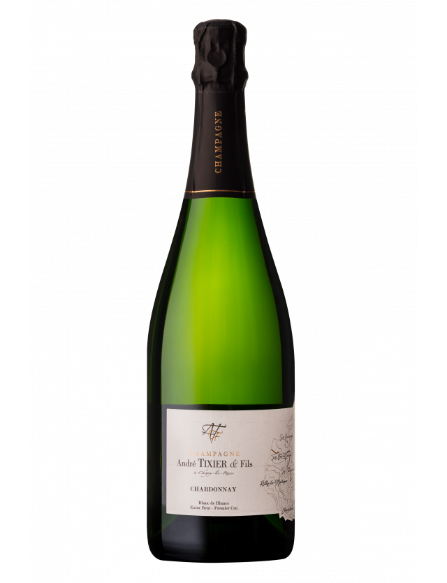 Chardonnay extra-brut champagne andré tixier