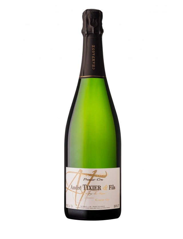 Carte Or brut champagne andré tixier