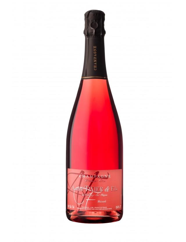 Cuvée Rosé brut champagne andré tixier