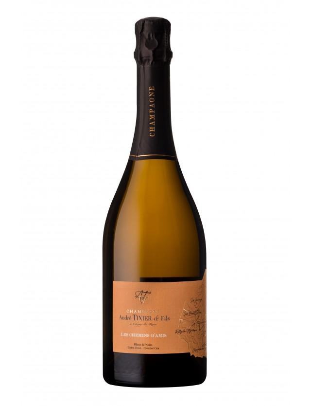 Les Chemins d'Amis extra-brut champagne andré tixier