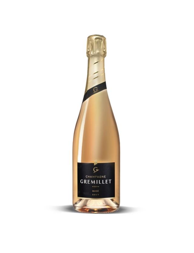 Brut Rosé champagne gremillet