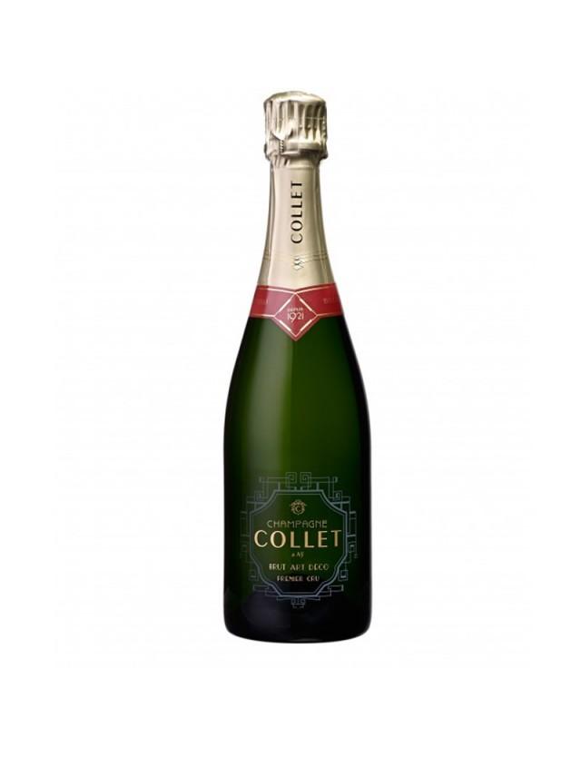 Cuvée Brut Art Déco Premier Cru champagne collet