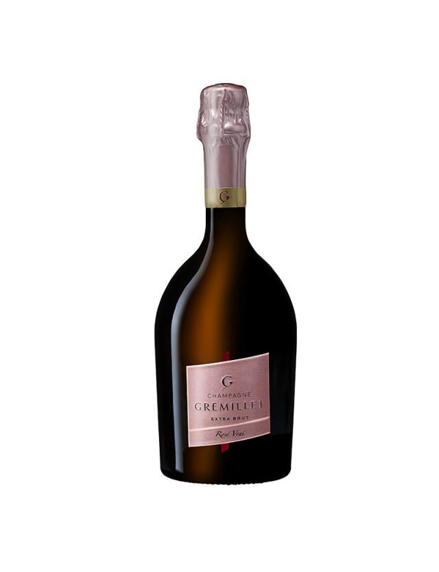 Rosé Vrai champagne gremillet