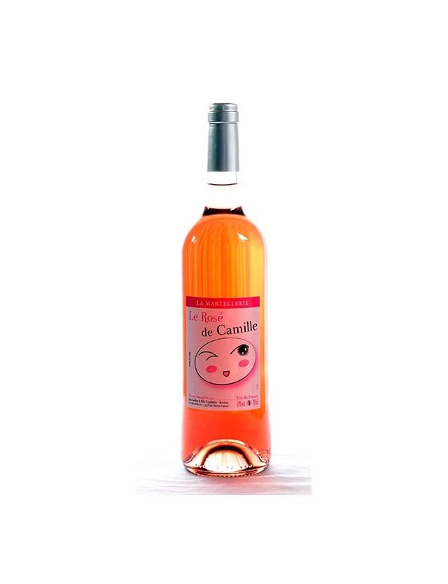 Le Rosé de Camille CHATEAU LA MARTELLERIE