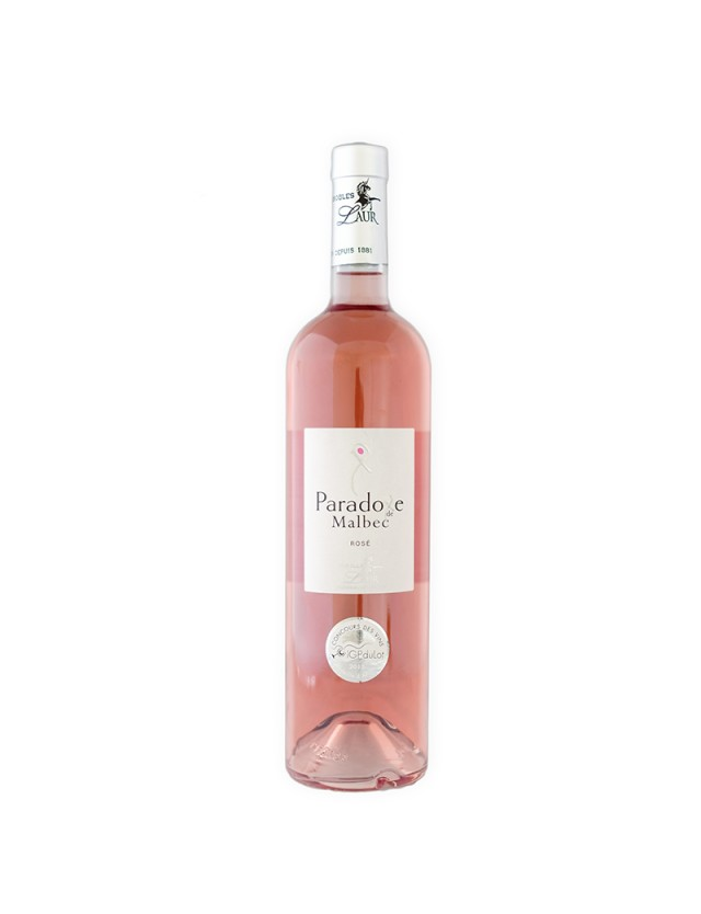 Paradoxe de Malbec - Rosé Demi sec les vignobles laur