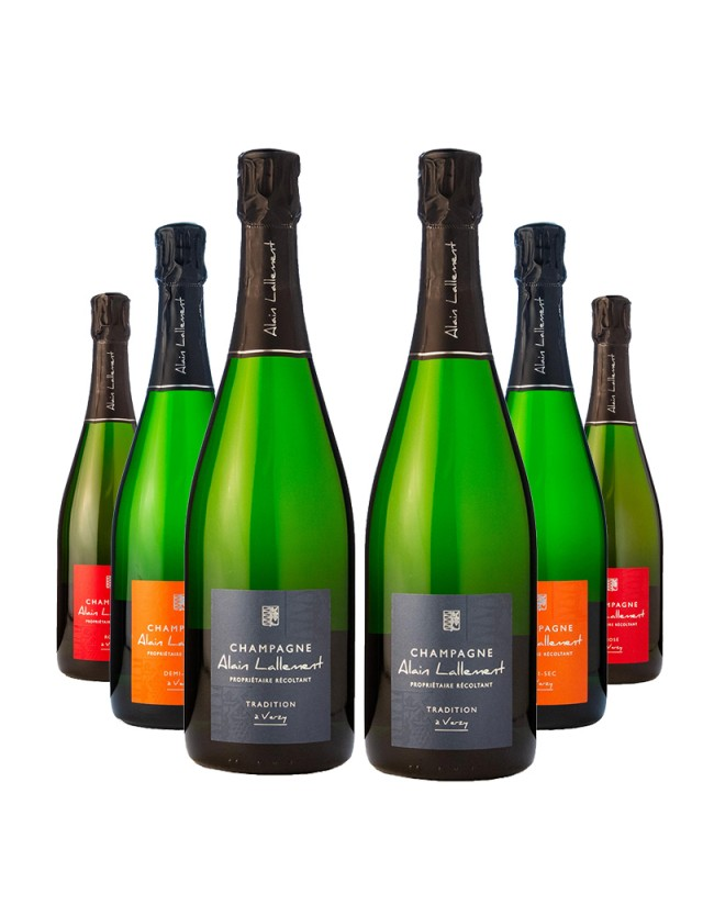 Gamme Tradition CHAMPAGNE ALAIN LALLEMENT