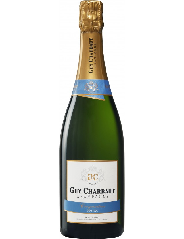 Cuvée Croquantine Demi-sec CHAMPAGNE GUY CHARBAUT