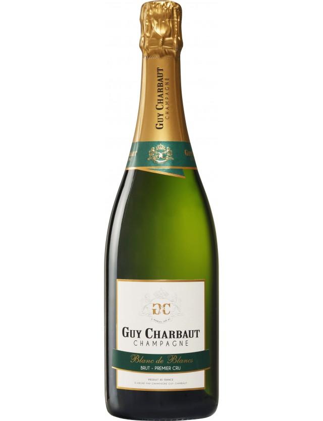 Cuvée Blanc de Blancs Brut 1er Cru champagne guy charbaut