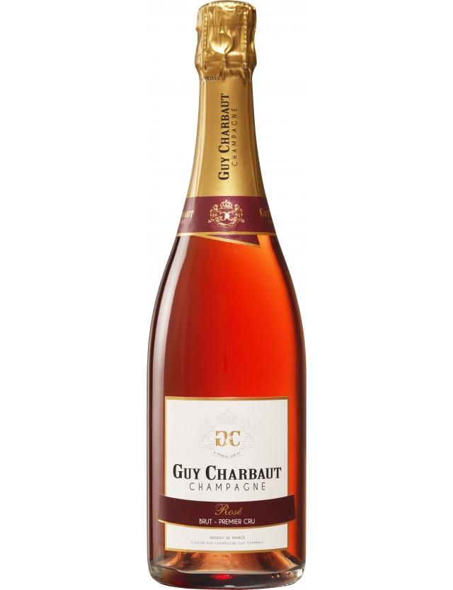 Cuvée Rosé Brut 1er Cru champagne guy charbaut