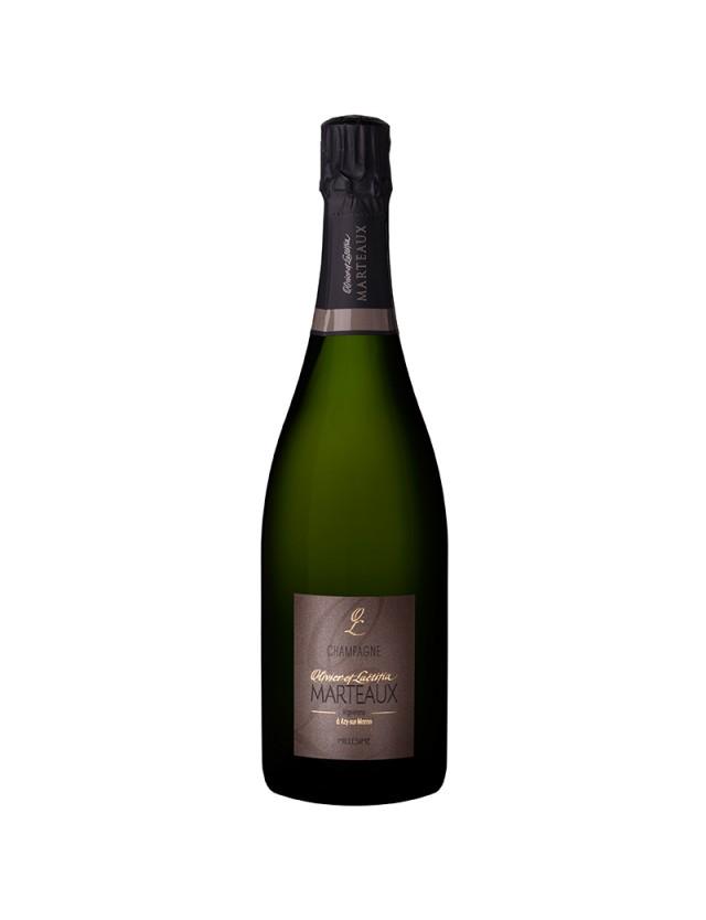 Millésime 2012 champagne olivier et laetitia marteaux