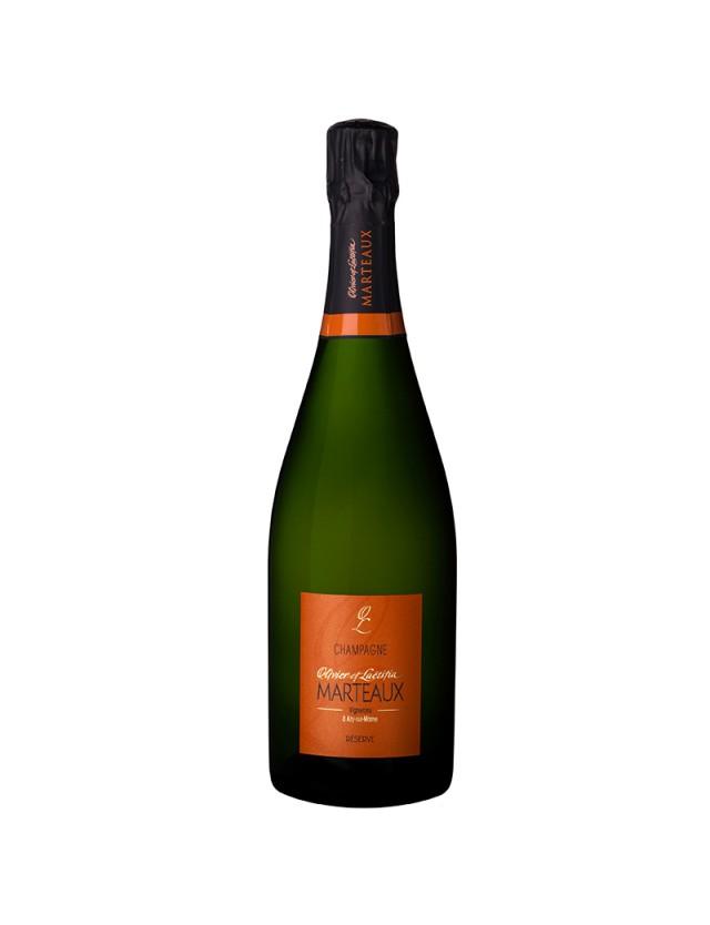 Réserve champagne olivier et laetitia marteaux