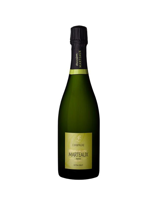 Extra-Brut champagne olivier et laetitia marteaux