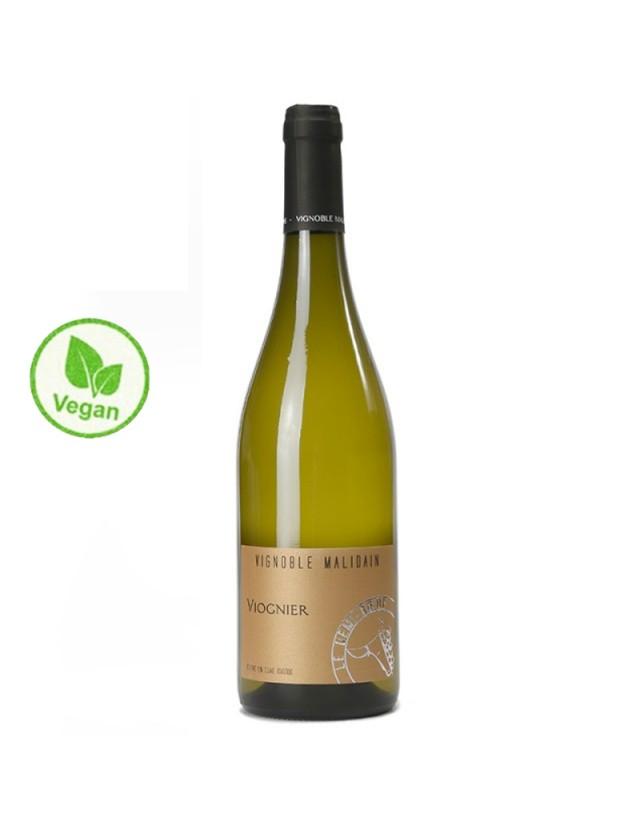 Viognier cuvée Ovoïde - Vin Vegan vignoble malidain