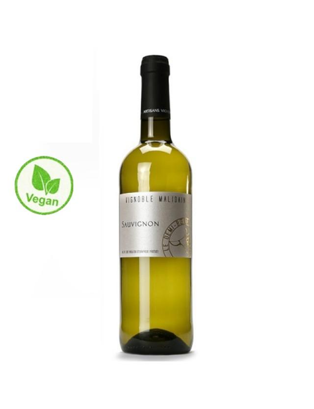 """Sauvignon """"Le Demi-Boeuf"""" - Vin Vegan vignoble malidain"""