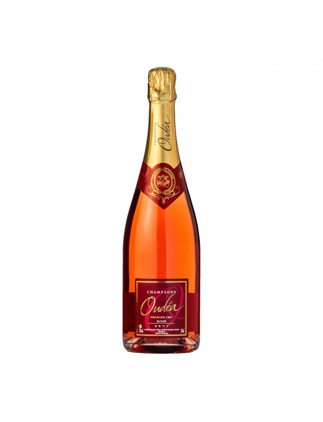 CHAMPAGNE OUDEA - ROSE BRUT champagne oudea