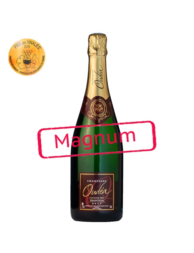 CHAMPAGNE TRADITION BRUT - Magnum champagne oudea