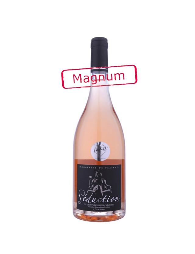 Séduction Magnum Rosé domaine de vézian - mjg briu