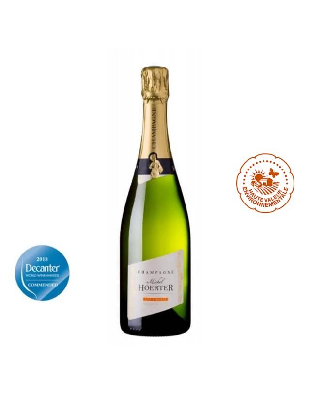 Champagne Brut LES 3 MUSES champagne michel hoerter