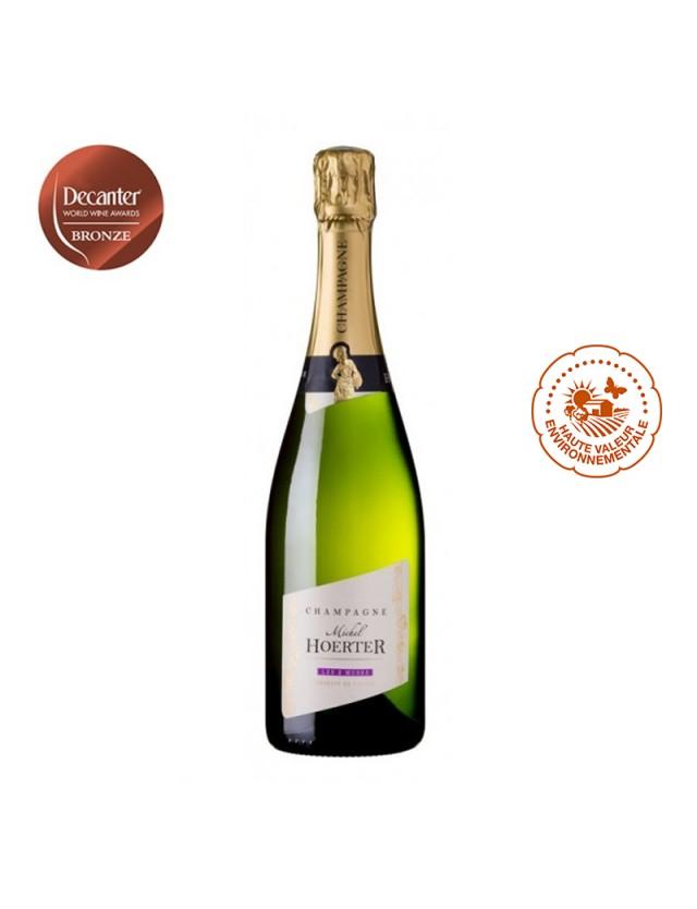 Champagne LES 2 MUSES - Blanc de Noirs champagne michel hoerter