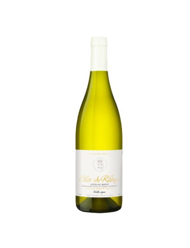 Côtes-du-Rhône blanc famille sadel