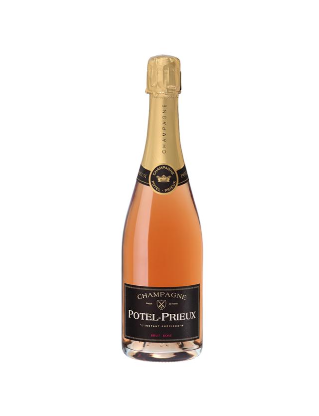 Brut Rosé champagne potel-prieux