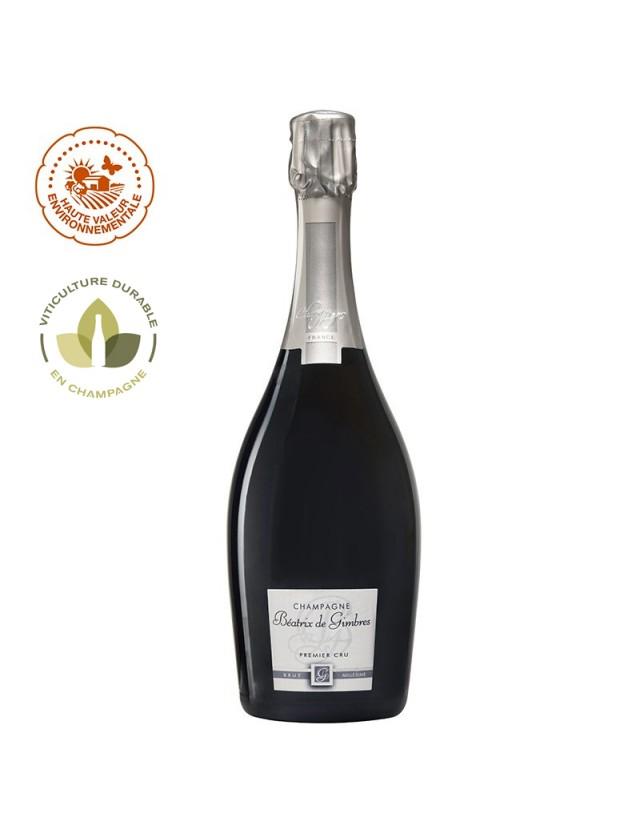 Brut Millésimé champagne beatrix de gimbres