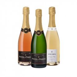Coffret Découverte Champagne Potel Prieux