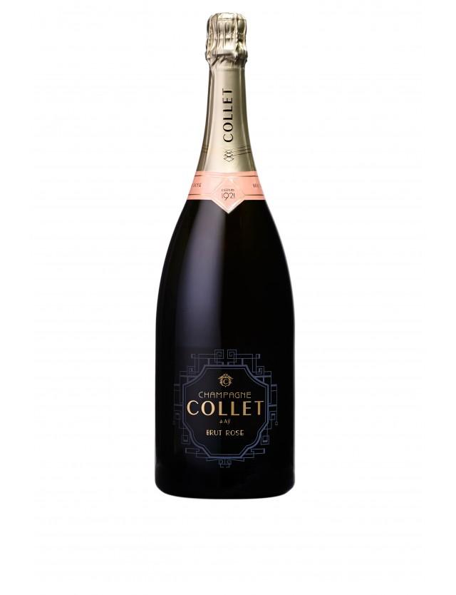 Champagne Collet Brut Rosé Magnum champagne collet