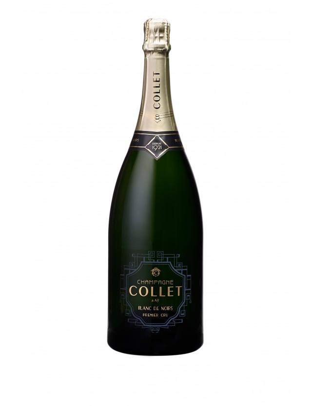 Cuvée Blanc de Noirs Premier Cru Magnum champagne collet