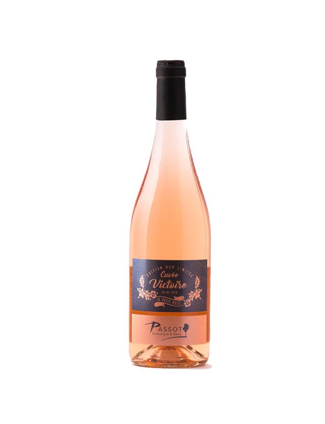 Rosé Cuvée Victoire domaine passot remy & fils