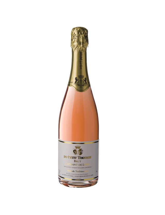 Crémant Rosé chateau du petit thouars