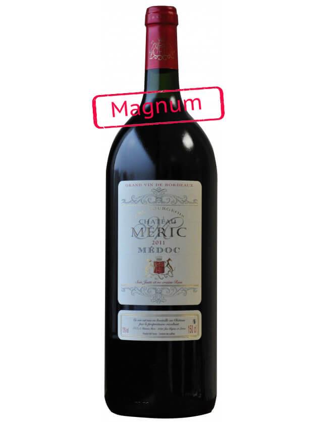 Magnum avec coffret bois - Cuvée Classique - Cru bourgeois chateau meric