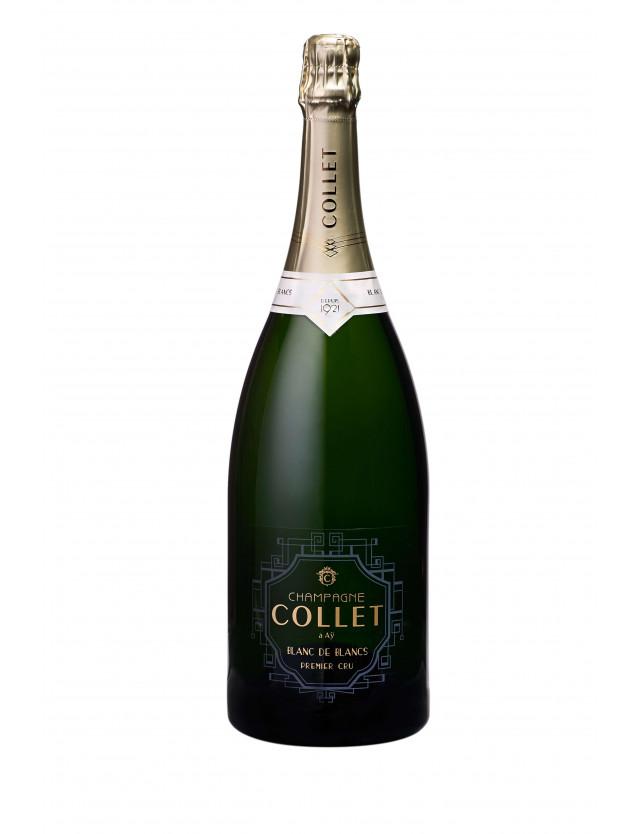 Cuvée Blanc de Blancs Premier Cru Magnum champagne collet