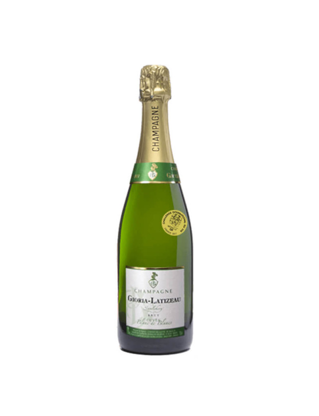 Blanc de Blanc champagne gioria latizeau