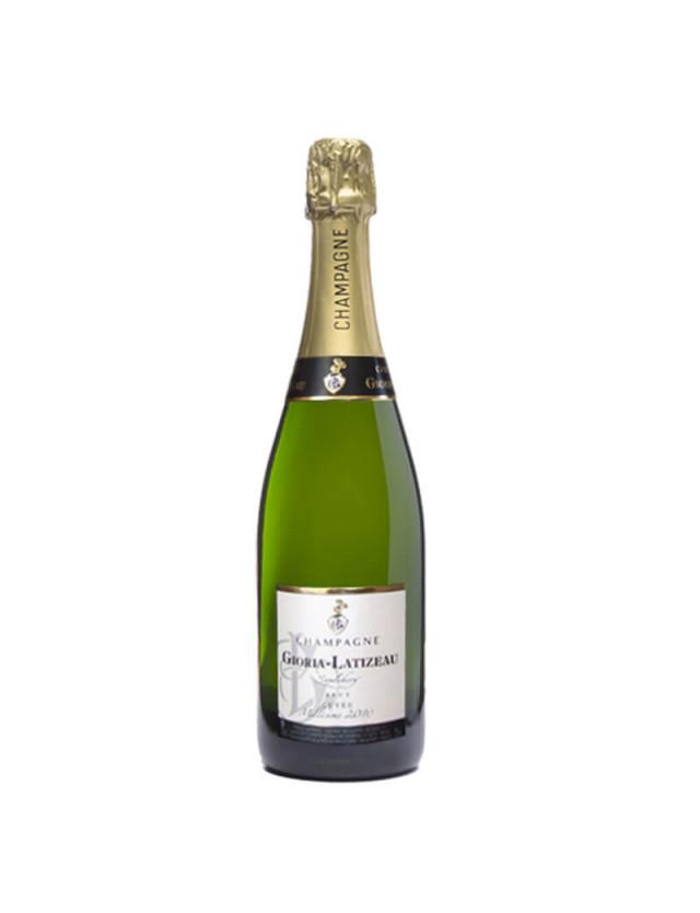 Brut Vintage champagne gioria latizeau