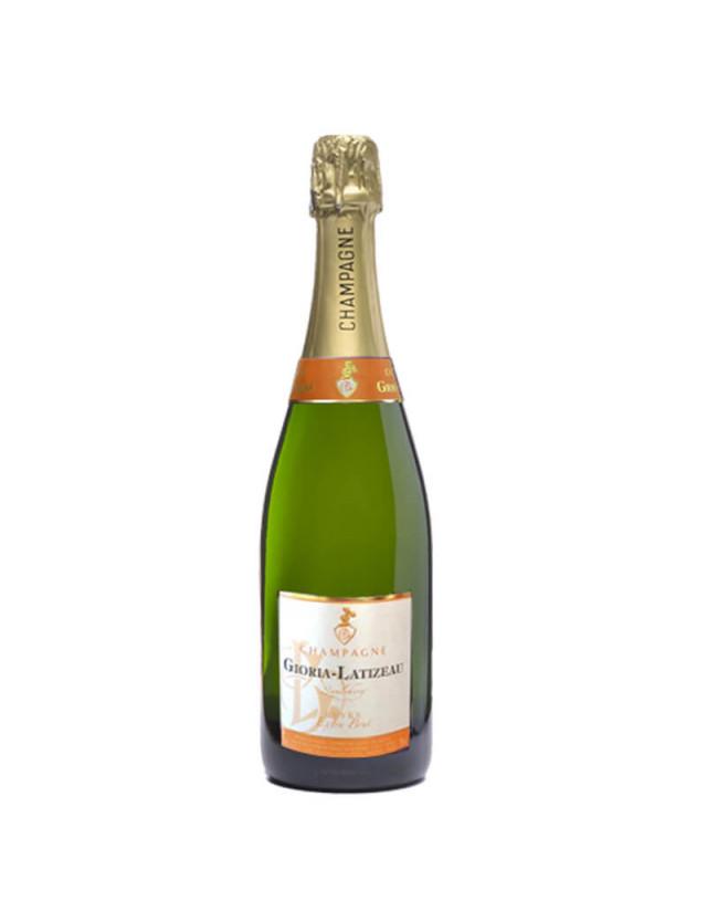 Extra-Brut champagne gioria latizeau